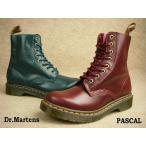 Dr.Martens 靴 PASCAL ドクターマーチン パスカル 13512602(シラーズ) 13512320(ピーコック) レディース レースアップブーツ BOOTS靴