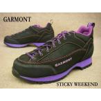 GARMONT STICKY WEEKEND BLACK / ガルモント スティッキー ウィークエンド メンズ カジュアル アウトドア トレッキングシューズ