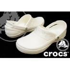 クロックス 10876 マーシー ワーク 138(ホワイト/シルバー)/ crocs mercy work レディース カジュアル アクアサンダル