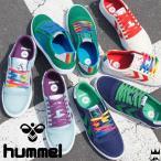 ヒュンメル hummel 靴 レディース スニーカー スリマー スタディール レインボー ロー ローカット シューズ 替え紐付き Rainbow スリム 65028
