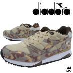 ショッピングディアドラ ディアドラ DIADORA V7000 CAMO 靴 メンズ スニーカー ローカット ベローチェ7000 迷彩柄 カモフラージュ柄 ランニングシューズ 替え紐付き ベージュ 171822