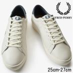 フレッドペリー FRED PERRY スニーカー メンズ B7251 スペンサーレザー ローカット テニスシューズ ポーセレン/ネイビー