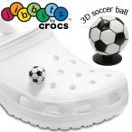 クロックス crocs ジビッツ 3D サッカーボール ラバークロッグ用アクセサリー シューチャーム 10003308