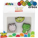クロックス crocs ジビッツ ディズニー トイストーリー キッズ メンズ レディース 10007039 3個セット Toy Story 3pk ラバークロッグ用アクセサリー エイリアン