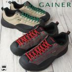 ゲイナー GAINER メンズ スニーカー ワイドラスト 4E ゆったり ローカット テイスト ストレッチ素材