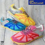 アサヒ ASAHI ウォークランドFS レディース ウォーキングシューズ メイドインジャパン MADE IN JAPAN 日本製 スロージョギング スポーツ 運動靴 ローカット