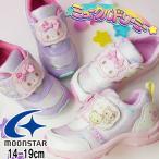 サンリオ sanrio 女の子 子供靴 キッズ ジュニア スニーカー ミュークルドリーミー ベルクロ ローカット 運動靴 ホワイト 白 パープル SAN C010