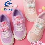 サンリオ sanrio 女の子 子供靴 キッズ ベビー ベルクロ キッズシューズ ムーンスター Moonstar ボンボンリボン マイメロディ SAN-C002  スニーカー
