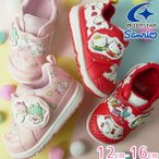 サンリオ sanrio スニーカー 女の子 子供靴 キッズ ベビー キティ ミミィ キキララ ファーストシューズ キッズシューズ ベルクロ ムーンスター Moonstar SAN B02