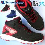 チャンピオン Champion スニーカー 男の子 子供靴 キッズ ジュニア Jr. スピードコート スノーレース ミッドカット 防水 通学 運動靴 CP JS016W