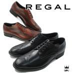リーガル REGAL 靴 メンズ ビジネスシューズ 32HR フォーマル リクルート フレッシャーズ ドレスシューズ 冠婚葬祭 ウイングチップ メダリオン