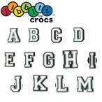 クロックス crocs ジビッツ jibbitz letter キッズ メンズ レディース アルファベット A〜M ラバークロッグ用アクセサリー シューチャーム