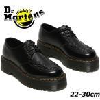 ドクターマーチン Dr.Martens メンズ レディース アシュレイ ローカット 厚底 3ホールシューズ 15728001 クリーパーシューズブラック 黒