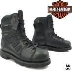ショッピングハーレーダビッドソン ハーレー ダビッドソン HARLEY-DAVIDSON 靴 メンズ ブーツ FXRG-3 レースアップ ショートブーツ バイク ワークブーツ ウォータープルーフ 防水 ブラック BLACK