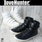 ラブハンター LOVE HUNTER 靴 メンズ スニーカー 1877 サイドジップ ベルクロ ハイカットスニーカー カジュアルシューズ メンナク系 お兄系