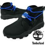 ティンバーランド Timberland メンズ TB0A2BU2 ブルックリン レザー/ファブリックチャッカ ブラックメッシュ