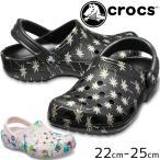 クロックス crocs クロッグサンダル レディース 205706 クラシック シーズナル グラフィック クロッグ コンフォートサンダル サボサンダル