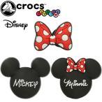クロックス crocs ジビッツ jibbitz ディズニー ミニーマウス ミッキーマウス Mickey Mouse Minnie ラバークロッグ用アクセサリー 10007790 10007791 10007792