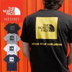ザ・ノースフェイス THE NORTH FACE ショートスリーブスクエアロゴティー Tシャツ メンズ レディース NT31957 半袖 ティーシャツ フェス キャンプ ブラック
