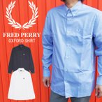 フレッドペリー FRED PERRY オックスフォード メンズ M8501 トップス 長袖シャツ ボタンダウン 月桂樹 ローレル