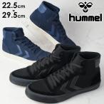 ヒュンメル hummel Rmx High ハイカットスニーカー メンズ レディース 201946 レースアップ スポーツ 運動靴 黒 ブラック ネイビー