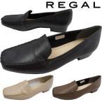 リーガル REGAL レディース モカシン スリッポン 定番 F22J ワイズ2E 革靴 レザー パンプス ローヒール ヒール約2cm 靴