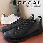 リーガル REGAL 靴 レディース ローカットスニーカー 革靴 レザー F70L 痛くない 歩きやすい レースアップシューズ ぺたんこ靴