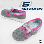 スケッチャーズ SKECHERS 女の子 子供靴 キッズ チャイルド 81068N ガールズ メモリーフォーム カジュアルシューズ リボン ベルクロ ウォーキングスニーカー