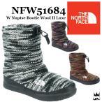 ザ・ノースフェイス THE NORTH FACE レディース NFW51684 W Nuptse Bootie Wool II Luxe ヌプシ ブーティー ウール ラックス スノーブーツ ウィンターブーツ 雪