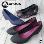 クロックス crocs 靴 レディース 203408 standard fit スタンダード フィット ウエッジパンプス ウエッジソール パンプス ウェッジ ウエッジヒール シンプル