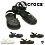 クロックス crocsレディース 202494 karin clog w ラバーサンダル ぺたんこ靴 カジュアル オフィス アクア クロッグ コンフォートシューズ