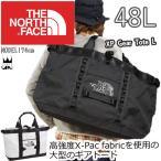 ザ・ノースフェイス THE NORTH FACE XPギアトートL バッグ 48L メンズ レディース NM81768 ブラック ホワイト