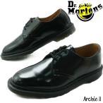 ドクターマーチン 3ホールシューズ レディース メンズ 革靴 Archie II オックスフォードシューズ ビジネスシューズ ドレス フォーマル パーティ