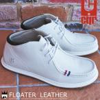 コンカラー conqueror 靴 メンズ スニーカー フローターレザー ミッドカット サーフ ベーシック   吸湿速乾  コンフォート