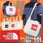 ザ・ノースフェイス THE NORTH FACE メンズ レディース ユーティリティートート NM81764 トートバッグ 12L K TR W 黒 赤 白 キャンバス