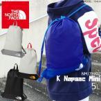 ザ・ノースフェイス キッズ ナップサック ミニ NMJ71902 5L 男の子 女の子 ジュニア リュック スポーツバッグ シューズバッグ小物入れ 巾着袋 ナップザック 黒