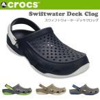����å��� CROCS ������� ��� Swiftwater Deck Clog �������եȥ����������ǥå�����å� 203981 ��� ����å��� ���� ������ crs-076