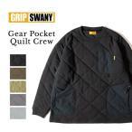 GRIP SWANY グリップスワニー GEAR POCKET QUILT CREW ギアポケットキルトクルー GSC-37 【トップス/長袖/アウトドア】