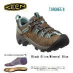 ショッピングkeen キーン KEEN スニーカー Targhee II Black Olive/Mineral Blue/ 1012244/レディース