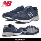 ニューバランス new balance M990NV4 NAVY 日本正規品 【靴】スニーカー