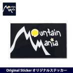 Mountain Mania/マウンテンマニア Original Sticker オリジナルステッカー 【ZAKK】【雑貨】シール ステッカー インテリア ステーショナリー