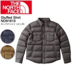ショッピングノースフェイス ノースフェイス THE NORTH FACE シャツ スタッフドシャツ(メンズ) Stuffed Shirt ND91610 【NF-TOPS】