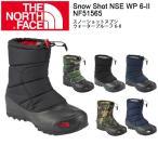 nf51565 THE NORTH FACE ザ・ノースフェイス ブーツ スノーショットヌプシウォータープルーフ 6-II Snow Shot NSE WP 6-II /NF51565 ユニセックス 【NF-FOOT】