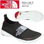ショッピングノースフェイス ノースフェイス THE NORTH FACE シューズ Ultra Low II ウルトラ ロー II(ユニセックス)TNFブラック×TNFホワイト NF51701 【NF-FOOT】メンズ レディース
