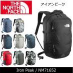ショッピングノースフェイス ノースフェイス THE NORTH FACE アイアンピーク Iron Peak NM71652 【NF-BAG】 バックパック