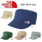 ノースフェイス THE NORTH キャップワークキャップ(キッズ) Kids' Work Cap NNJ01516