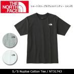 【メール便発送】ノースフェイス THE NORTH FACE Tシャツ ショートスリーブヌプシコットンティー(メンズ) S/S Nuptse Cotton Tee NT31743