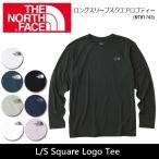 ノースフェイス THE NORTH FACE 長袖Tシャツ ロングスリーブスクエアロゴティー L/S Square Logo Tee NT81743 【NF-TOPS】メンズ