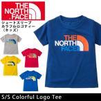 ノースフェイス THE NORTH FACE Tシャツ S/S Colorful Logo Tee NTJ31612 (メール便対応)【NF-TOPS】