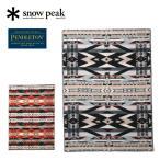 Snow Peak スノーピーク SP×PENDLETON Muchacho Blanket One スノーピーク×ペンドルトンムチャチョブランケットワン SI-PD-21AU001【コラボ/膝掛け】